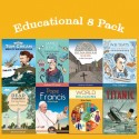 Educational 8 book pack